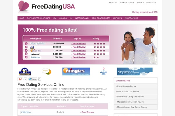 list of free dating services